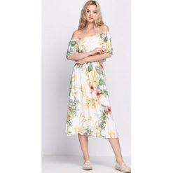 Sukienki: Biała Sukienka Zaffre