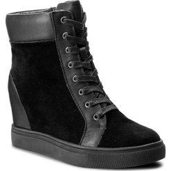 Sneakersy GINO ROSSI - Pepper DT796M-TWO-BWBG-9999-F 99/99. Czarne sneakersy damskie marki Gino Rossi, z polaru. W wyprzedaży za 249,00 zł.