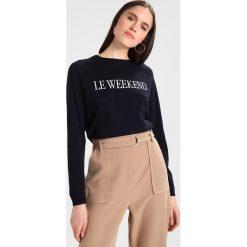 Swetry klasyczne damskie: Whistles LE WEEKEND Sweter navy