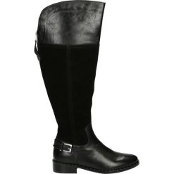 Kozaki - OLIVIA1816 BL. Czarne buty zimowe damskie marki Venezia, ze skóry. Za 469,00 zł.