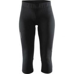 Bryczesy damskie: Craft Spodnie sportowe damskie Prime Capri czarne r. S (1903179-9999)