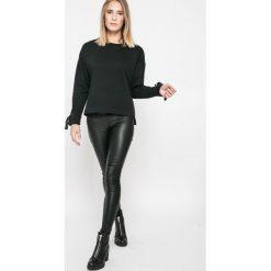 Broadway - Bluza. Czarne bluzy damskie Broadway, l, z bawełny, bez kaptura. W wyprzedaży za 59,90 zł.