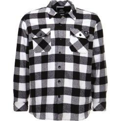 Dickies SACRAMENTO Koszula black. Szare koszule męskie marki Dickies, z bawełny. Za 219,00 zł.