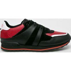 Trussardi Jeans - Buty Running Nappa. Czarne buty skate męskie Trussardi Jeans, z jeansu, na sznurówki. Za 549,90 zł.
