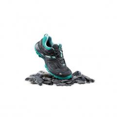 Buty turystyczne Mountain Hiking 100 damskie. Szare buty trekkingowe damskie marki QUECHUA. Za 169,99 zł.