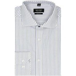 Koszula spello 2048 długi rękaw slim fit niebieski. Niebieskie koszule męskie slim Recman, m, z długim rękawem. Za 29,99 zł.