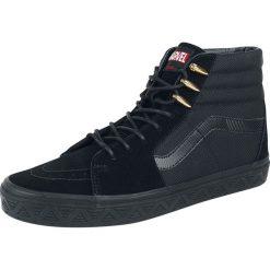 Vans Marvel Black Panther SK8-Hi Buty sportowe czarny. Czarne buty sportowe męskie marki Vans, z motywem z bajki. Za 199,90 zł.