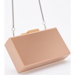 Stylowa torebka na łańcuszku - Beżowy. Brązowe torebki klasyczne damskie Reserved. Za 129,99 zł.