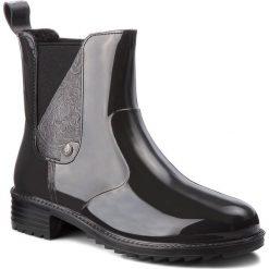 Kalosze RIEKER - P8162-45 Grau Kombi. Czarne buty zimowe damskie marki Rieker, z materiału. Za 199,00 zł.