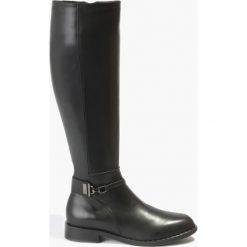 Kozaki czarne Vita. Czarne buty zimowe damskie Badura. Za 375,99 zł.