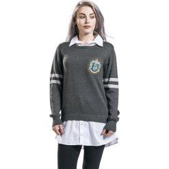Bluzy rozpinane damskie: Harry Potter Slytherin Bluza damska szary/biały