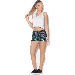 Odzież sportowa damska: Colour Pleasure Spodnie damskie CP-020 259 czarne r. 3XL/4XL