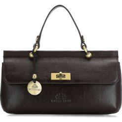 Torebka damska 35-4-585-3. Czarne torebki klasyczne damskie Wittchen, w paski. Za 649,00 zł.