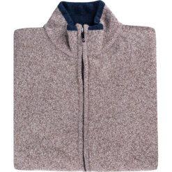 Sweter TOMASSO SWER000131. Brązowe swetry rozpinane męskie Giacomo Conti, na jesień, m, z tkaniny. Za 229,00 zł.
