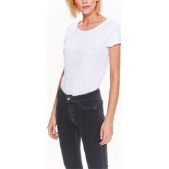 T-shirty damskie: T-SHIRT DAMSKI Z NADRUKIEM TON W TON