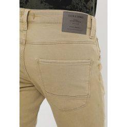 Jack & Jones JJIGLENN JJJAXX BIKER Jeansy Slim Fit kelp. Brązowe jeansy męskie Jack & Jones. Za 299,00 zł.