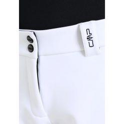 CMP WOMAN LONG  Spodnie narciarskie bianco/nero. Białe bryczesy damskie CMP, z materiału, narciarskie. W wyprzedaży za 374,50 zł.