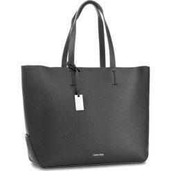 Shopper bag damskie: Torebka CALVIN KLEIN BLACK LABEL – Edit Large Shopper K60K603790 001