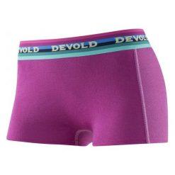 Bokserki damskie: Devold Bokserki Hiking Hipster Orchid Xs Pink