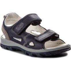 Sandały PRIMIGI - 1394422 M Blu. Niebieskie sandały chłopięce Primigi, ze skóry. W wyprzedaży za 179,00 zł.