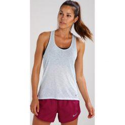 Nike Performance BREATHE COOL Koszulka sportowa glacier blue. Niebieskie topy sportowe damskie Nike Performance, xl, z materiału. W wyprzedaży za 125,10 zł.