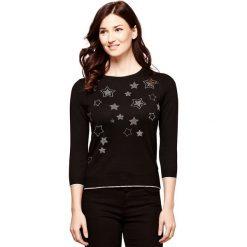Swetry damskie: Sweter z okrągłym dekoltem z dzianiny o cienkim splocie
