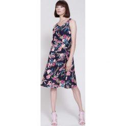 Sukienki: Granatowa Sukienka Spring Party