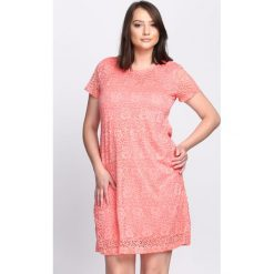 Sukienki: Koralowa Sukienka Rowanberry