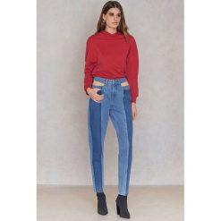 NA-KD Jeansy Cameron - Blue. Niebieskie jeansy damskie marki NA-KD, z denimu. W wyprzedaży za 40,19 zł.