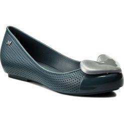 Baleriny ZAXY - New Pop Beauty Fem 82353 Navy 24138 AA285076 02064. Niebieskie baleriny damskie lakierowane Zaxy, z tworzywa sztucznego. W wyprzedaży za 149,00 zł.
