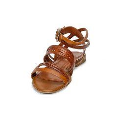 Sandały BOSS Casual  50262270. Brązowe sandały damskie BOSS Casual. Za 599,20 zł.