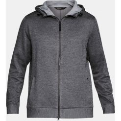 Bluzy męskie: Under Armour Bluza męska Sportstyle Sweater Fleece Full Zip szara r. S (1303818-090)