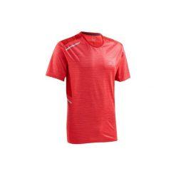 Koszulka do biegania RUN DRY+ męska. Czerwone koszulki do biegania męskie marki KALENJI, m, z elastanu. Za 39,99 zł.