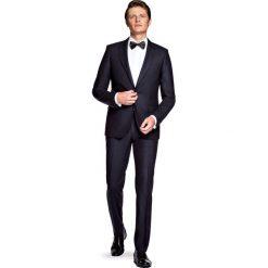 Garnitur Czarny Trento. Czarne garnitury marki LANCERTO, z tkaniny. W wyprzedaży za 499,90 zł.