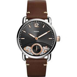 Zegarek FOSSIL - The Commuter Twist ME1165 Brown/Silver. Różowe zegarki męskie marki Fossil, szklane. Za 649,00 zł.
