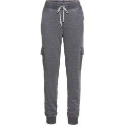 """Spodnie dresowe """"used look"""" bonprix antracytowy """"oil wash"""". Szare spodnie dresowe damskie bonprix, z dresówki. Za 109,99 zł."""