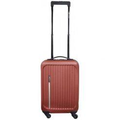 Leonardo Bagaż Podręczny Trolley Premium Czerwony. Czerwone walizki marki Leonardo. Za 127,00 zł.