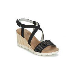 Sandały Caprice  NOS. Czarne sandały damskie Caprice. Za 247,20 zł.