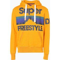 Superdry - Męska bluza nierozpinana, żółty. Żółte bejsbolówki męskie Superdry, m, z nadrukiem, z bawełny, z kapturem. Za 279,95 zł.