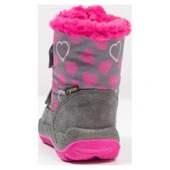 Superfit ICEBIRD Śniegowce stone. Szare buty zimowe damskie marki Superfit, z materiału. W wyprzedaży za 208,45 zł.