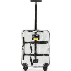 Walizka Share Transparent kabinowa. Szare walizki marki Crash Baggage, z materiału. Za 1049,00 zł.