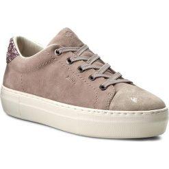Sneakersy JOOP! - Elaia 4140003334 Taupe 104. Brązowe sneakersy damskie JOOP!, ze skóry. W wyprzedaży za 399,00 zł.