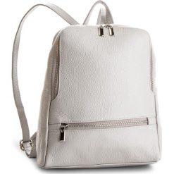 Plecak CREOLE - K10505 Szary. Szare plecaki damskie Creole, ze skóry, klasyczne. W wyprzedaży za 209,00 zł.