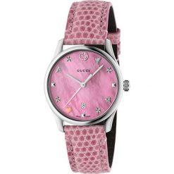 ZEGAREK GUCCI G-Timeless YA126586. Czerwone zegarki damskie GUCCI, ze stali. Za 4690,00 zł.