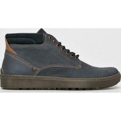 Wrangler - Buty Historic Chukka. Czarne buty skate męskie Wrangler, z materiału, na sznurówki. W wyprzedaży za 319,90 zł.