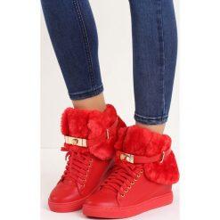 Czerwone Sneakersy Monte Casino. Czerwone sneakersy damskie Born2be. Za 144,99 zł.