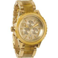 Zegarki damskie: Zegarek damski Champagne Gold Amber Nixon 42-20 Chrono A0371423