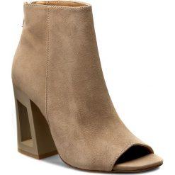Buty zimowe damskie: Botki KAZAR - Mariel 29453-02-03 Beżowy