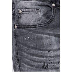 Brave Soul - Jeansy. Szare jeansy męskie skinny Brave Soul, z bawełny. W wyprzedaży za 99,90 zł.