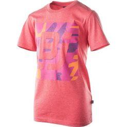 T-shirty chłopięce: BEJO Koszulka dziecięca Logo BJ koralowa r.158